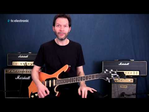 Paul Gilbert shows off his MojoMojo Overdrive, demonstrates his favourite settings and shreds like a boss to an old school ZZ Top loop. Rock'n Roll!