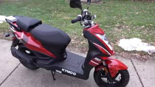 3. 2015 Kymco Super 8 50R Preliminary Review