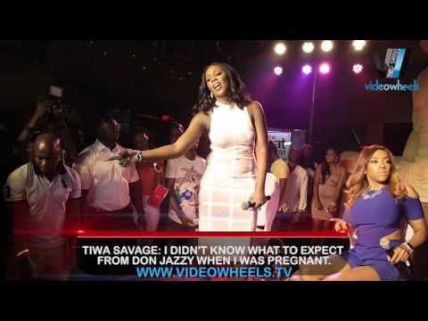 TIWA SAVAGE: I DIDN'T KNOW WHAT TO EXPECT  FROM DON JAZZY WHEN I WAS PREGNANT