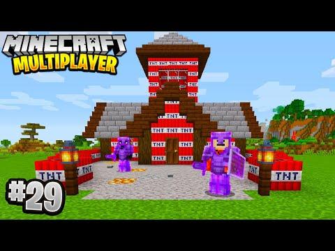BEST PRANK EVER in Minecraft Multiplayer Survival! (Episode 29)