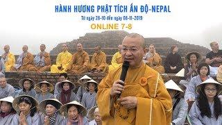 Hành hương Phật tích Ấn Độ - Nepal từ ngày 28-10 đến ngày 08-11-2019 ONLINE 7-8