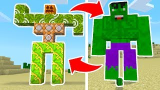 "👍 SMASH THAT ""LIKE"" button for more MINECRAFT POCKET EDITION ADVENTURES! Today, we spawn the HULK in Minecraft PE🔔SUBSCRIBE TO MY CHANNEL: https://goo.gl/ugK53fToday, I teach you how to spawn the Hulk in Minecraft Pocket Edition! This new Minecraft PE Hulk mob is a giant monster that likes to take down all mobs in its way! This new Minecraft PE Hulk mob is fun to spawn but becareful if you do try to play with the Hulk Mob in your Minecraft Pocket Edition Adventure role-play!Download: http://mcpedl.com/hulk-andrew-addon/🎧  BrainPod Earbuds: http://amzn.to/2s1P3oC👕  EPIC SHIRTS: https://goo.gl/OFqe4A👾  JOIN My DISCORD: https://discordapp.com/invite/truetriz►FREE iTunes + Google Play Gift Cards: http://mistplay.co/TrueTriz                         Code: TRUETRIZ-------------------------------------------------------------------------------------------How to INSTALL ADDONS/TEXTURE PACKS in Minecraft Pocket Edition: https://youtu.be/lpjpfhjLjOA-------------------------------------------------------------------------------------------Follow me►  https://twitter.com/TrueTrizFollow me►  https://www.instagram.com/truetrizzy/Facebook►  https://www.facebook.com/TruetrizDISCORD► https://discordapp.com/invite/truetrizSUBSCRIBE TO MY NEW CHANNEL: https://goo.gl/E51YAc-------------------------------------------------------------------------------------------Use Code ""TRIZ"" for 10% OFF your ENTIRE purchase of GFuel! ► http://gfuel.com/What is Minecraft Pocket Edition? Minecraft: Pocket Edition is the mobile version of Minecraft developed by Mojang. Subscribe for more Minecraft Pocket Edition update information news, Minecraft PE addon creations, as well as me trying to play Minecraft Pocket Edition as a baby on funny epic moment montages in Minecraft Pocket Edition! Sometimes I even play Minecraft PE at 3:00 AM!! But I recommend that you do not play Minecraft Pocket Edition at 3:00 AM because scary things might happen to your Minecraft PE device!-------------------------------------------------------------------------------------------If you read this, comment "" HULK SMASH """
