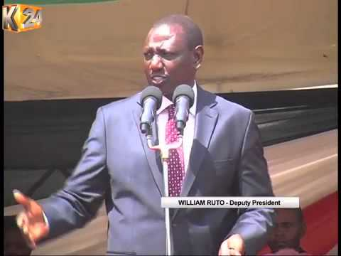 DP Ruto Says Jubilee Unapologetic For Working With Governor Mutua