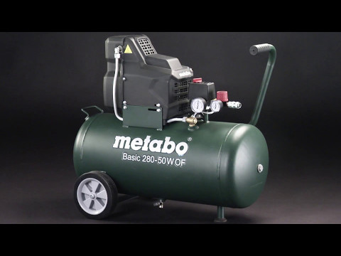 Metabo Kompressor / Compressor Basic 280-50 W OF