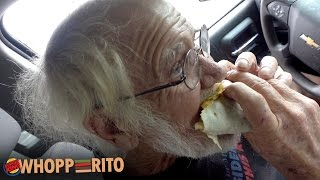 Angry Grandpa - The Burger King Whopperito!