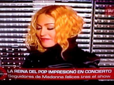 Concierto de Madonna en Chile