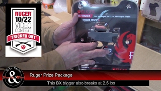"""I recently learned our """"Tricked out 10/22"""" video, https://youtu.be/m7uPGaOa_5g was selected as a Second Place winner by Ruger.  Watch the unboxing of our prize package that just arrived.  BTW, all these items are also available from http://ShopRuger.com"""