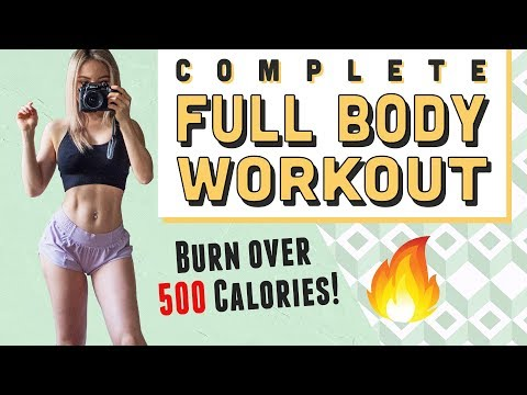 Complete Fat Blasting Full Body Workout | Burn 500 Calories | Warm Up & Cool Down