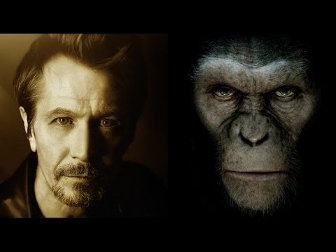 Gary Oldman Talks DAWN OF THE PLANET OF THE APES - AMC Movie News