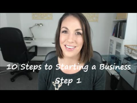 10 Steps to Starting a Business: Step 1 The Business Plan - All Up In Yo' Business