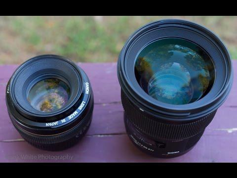 Sigma 50mm f/1.4 Art versus Canon EF 50mm f/1.4