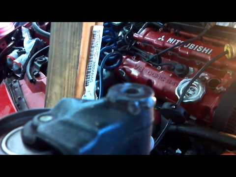 Mitsubishi 3000GT How not to replace timing belt