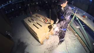 Видео Тест отрезного круга Abraflex A-30 Standart BF 125x1,2х22,23