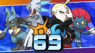 Pokémon Sun and Moon - Episode 69 | Champion Title Defense VS Gladion! by Munching Orange