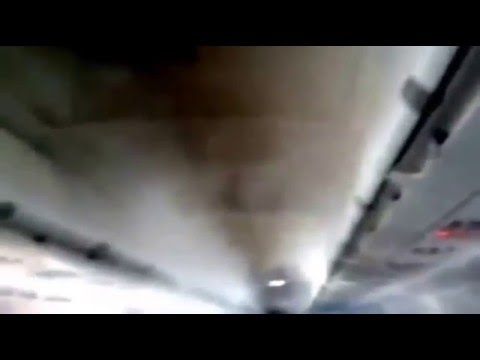 Видео из самолета Когалымавиа разбившегося в Египте 31 10 2015 (видео)