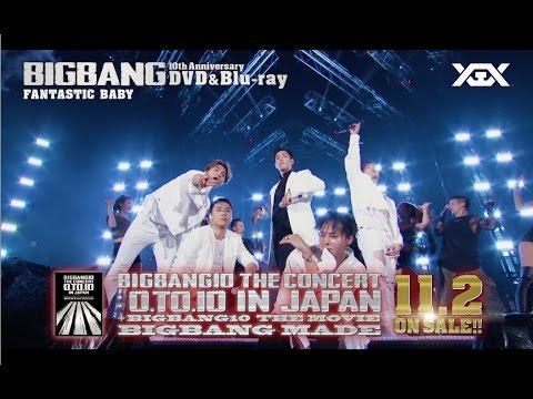 BIGBANG10 THE CONCERT : 0.TO.10 IN JAPAN + BIGBANG10 THE MOVIE BIGBANG MADE (Trailer Movie Ver.)
