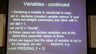 Javascript Tutorial For Beginners 1/6. Beginner Java Script Tutorials Intro. Learn Java Basics.