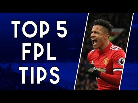 TOP 5 TIPS TO WIN AT FPL | Fantasy Premier League 2018/19