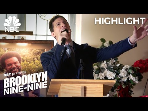 Jake Sings a Moving Tribute to Doug Judy at His Funeral - Brooklyn Nine-Nine (Episode Highlight)