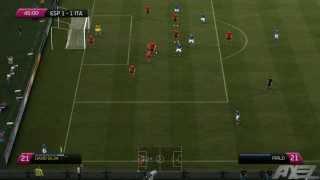 Fifa 12 | Eurocopa 2012 | España Vs Italia - Fase De Grupos | Comentario Español