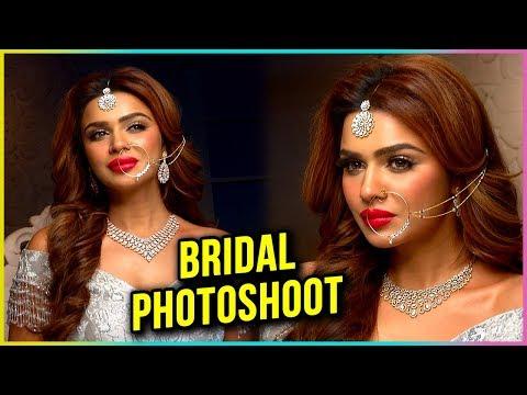 Aashka Goradia BRIDAL PHOTOSHOOT
