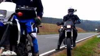 8. Wheelie Action - Husqvarna SM 125 S - KTM EXE 125 - Suzuki DRZ 400 S