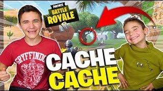 LE PIRE CACHE CACHE AVEC SWAN SUR FORTNITE BATTLE ROYALE - Néo The One