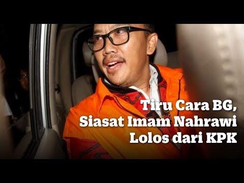 Tiru Cara BG, Siasat Imam Nahrawi Lolos dari KPK