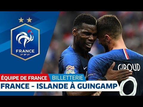 Video Equipe de France : France - Islande le jeudi 11 octobre à Guingamp I FFF 2018 download in MP3, 3GP, MP4, WEBM, AVI, FLV January 2017