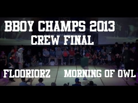 bboy - BBoy Championships World Finals 2013 Floorriorz (Japan) vs Morning of Owl (Korea) Single camera by DEBOpro.