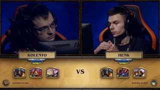 Kolento vs Henk, game 1