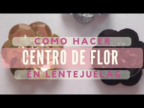 Vídeo tutorial: flores con lentejuelas y mostacillas