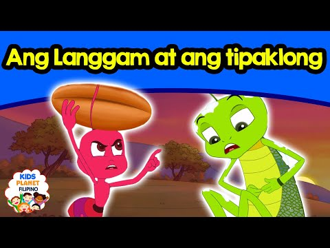 Ang Langgam at ang tipaklong | Kwentong pambata | Mga kwentong pambata | Tagalog fairy tales