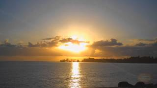 Hilo Bay Sunrise over Coconut Island (Time lapse)