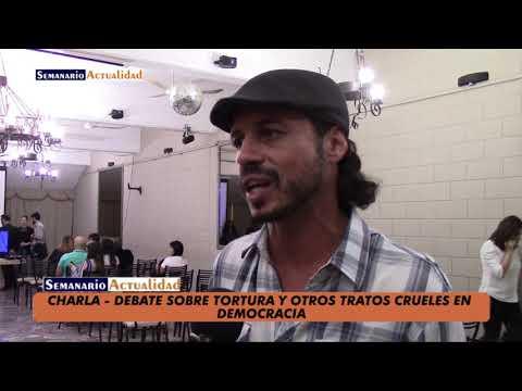 CHARLA DEBATE. TORTURAS Y OTROS TRATOS CRUELES EN DEMOCRACIA. REALIDAD SOCIAL Y MARCO JURĂŤDICO