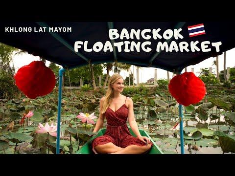 Khlong Lat Mayom | Amazing Thai food at Bangkok Floating Market