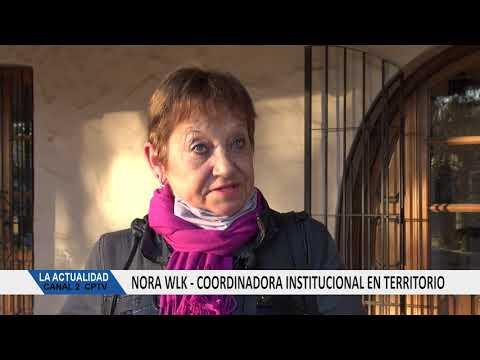 SOY EL OIDO DEL INTENDENTE: NORA WLK FUE NOMBRADA COORDINADORA INSTITUCIONAL EN TERRITORIO
