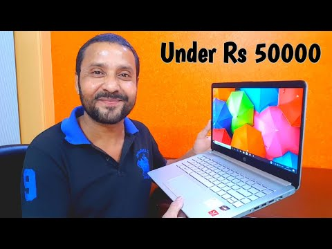 HP 14s-DK0093AU Notebook | Unboxing And Review In Hindi | Best Laptop For Students 🔥