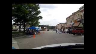West Baraboo (WI) United States  city photo : Driving Downtown Baraboo Wisconsin