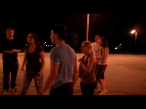 Drunkies street brawl