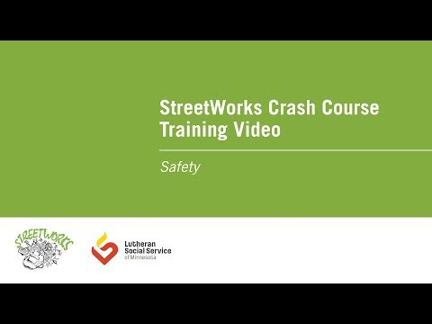 Streetworks Crash Course Training Video: Safety