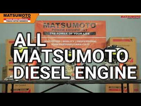 REVIEW ALL MATSUMOTO MDX DIESEL ENGINE    MESIN PENGGERAK BAHAN BAKAR SOLAR    AIR COOLED   