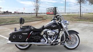 5. 673847   2013 Harley Davidson Road King Classic   FLHRC - Used motorcycles for sale