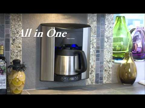 Built-in coffee maker by Brew Express