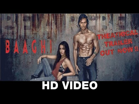 Baaghi : Rebels In Love - Exclusive Theatrical Trailer | Tiger Shorff, Shraddha Kapoor | HD