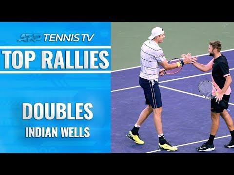 Top Indian Wells ATP Doubles Rallies! - Thời lượng: 4 phút, 17 giây.