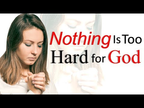 NOTHING IS TOO HARD FOR GOD - JOIN PASTOR SEAN LIVE THURSDAY 5pm PST/6pm MST/7pm CST/8pm EST
