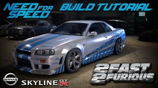 Nonton Need for Speed 2015 | 2 Fast 2 Furious Brian's Nissan Skyline Build Tutorial | How To Make Film Subtitle Indonesia Streaming Movie Download