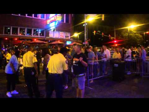 Security Check Point to Get On Beale Street – Elvis Week 2011 – Memphis, TN