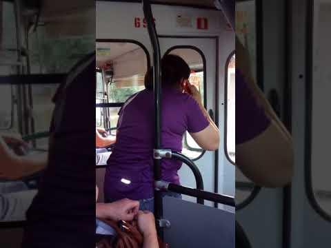 Буйная пассажирка троллейбуса